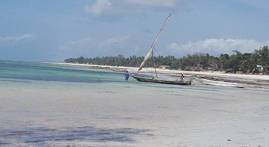 Baobab Beach Resort & Spa: la plage à marée basse