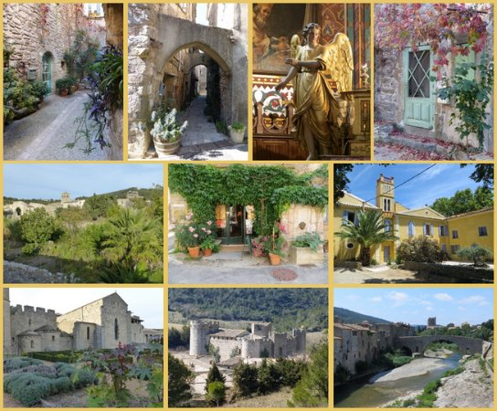 Fabrezan, France : Learn French while visiting middle-age villages in South of France
