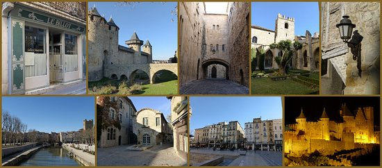 Fabrezan, France : Our school is located between the magnificent Cité de Carcassonne and Narbonne