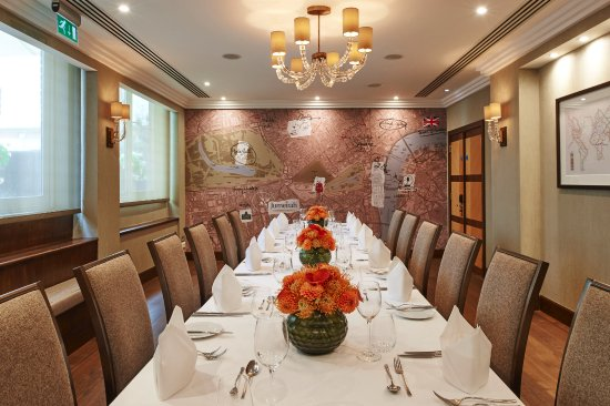 Jumeirah Lowndes Hotel: The Map Room, Private Dinning