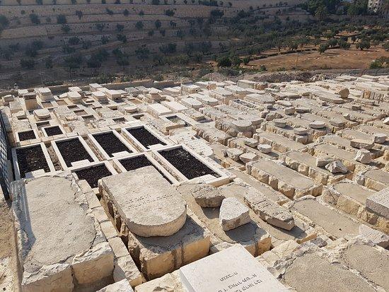 Cimetière juif du Mont des Oliviers : 감람산의 유대인 묘지