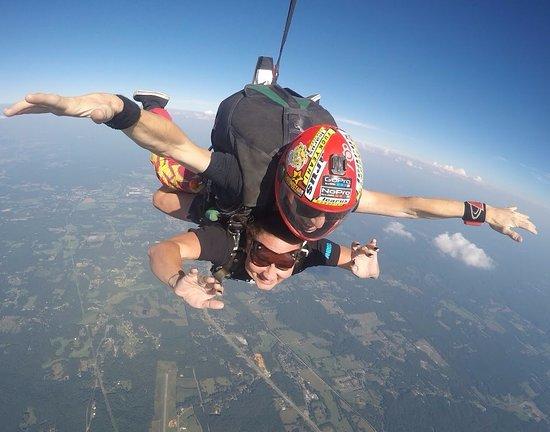 Cedartown, GA: 1st jump! August 20, 2017