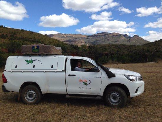 KwaZulu-Natal, South Africa: Picnic spot near the main gate