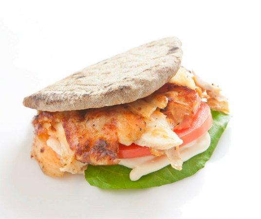 our exclusive 8-grain pita bread