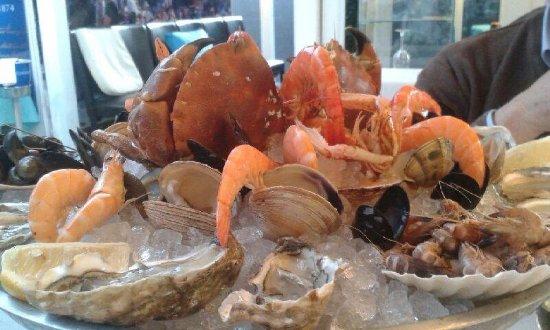 La Pepiniere: Plateau de fruits de mer avec tourteau