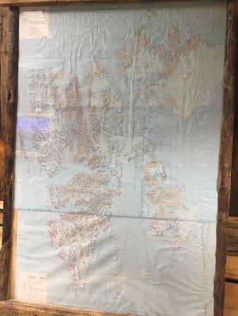 Basecamp Hotel: Svalbard's map