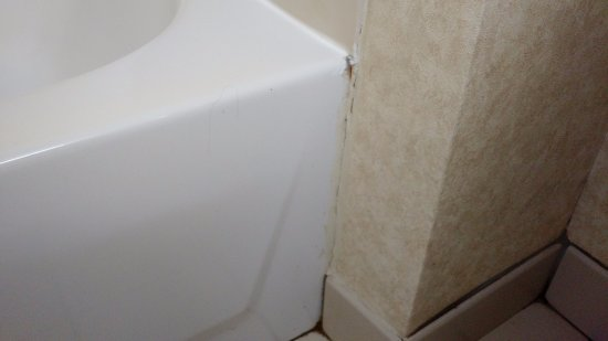 Austell, GA: yest even more mold and mildew -  tub fills up when showering because of drainage problems