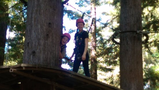 Mount Hermon, CA: Having fun!