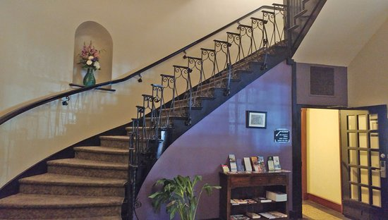 The Armstrong Hotel: Lovely Stairway (sometimes Oreo The Cat Sits On The  Bottom Step