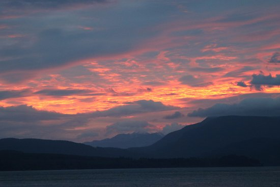 Quathiaski Cove, Canada: Sunset