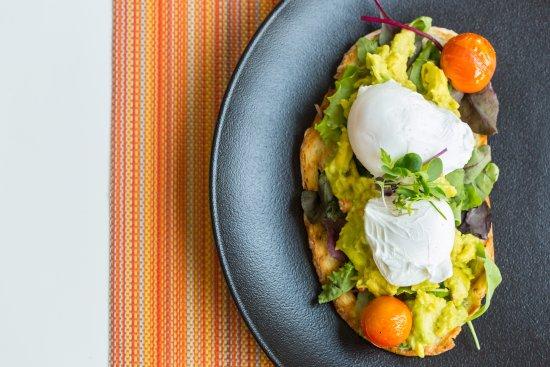 Desert Palm Dubai: Breakast Avocado and Poached Egg