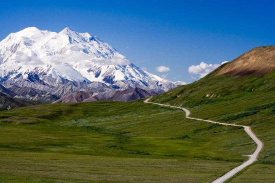 Hope, Alaska: Road to Special Places (Mt. McKinley in background)