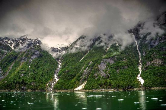Hope, AK: Tracy Arm Glacier