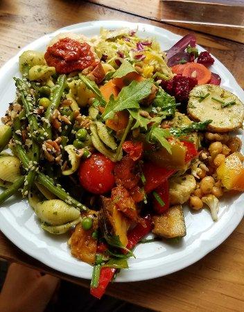 Riz Raz: vegetarian buffet
