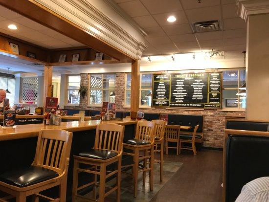 Blythewood, SC: Bar area and menu board