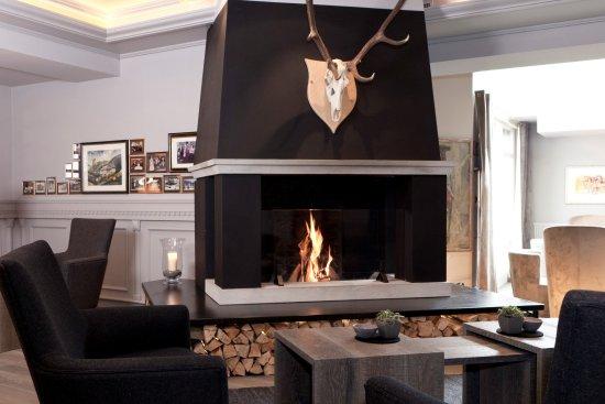 Hotel Gardena Grodnerhof: Lounge