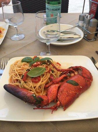 Bar Ristorante Da Olivieri: spaghetto all'astice