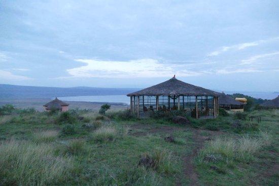 Abidjatta-Shalla National Park, Ethiopia: The resturant and its surrounding