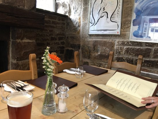 Beeley, UK: Great dining experience.