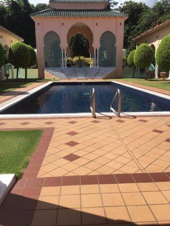 Cap Estate, Sta. Lucía: The spa pool