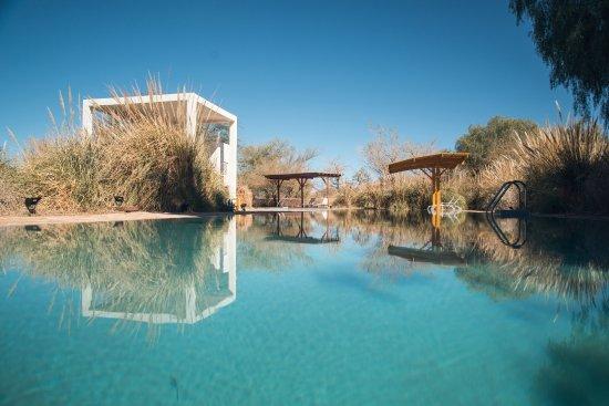 Explora Atacama - All Inclusive: Piscinas maravilhosas, pena que a água era gelada.