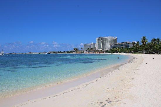 Ocho Rios Bay Beach: BEACH VIEW