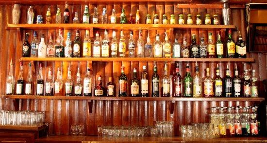 Le Sauze, France : Le bar