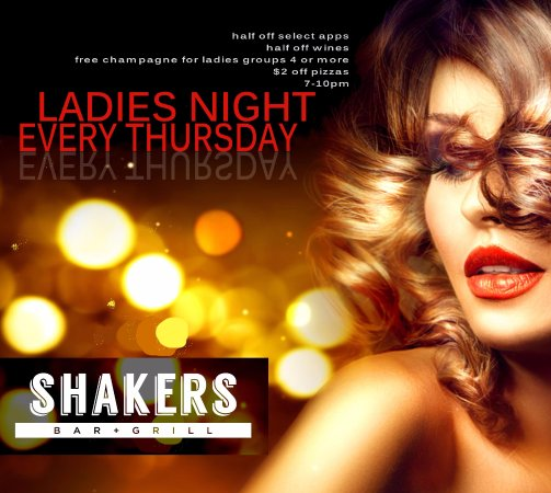 Wixom, MI: www.shakersbarandgrill.com Download our Free App at www.ordershakers.com