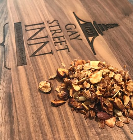 Washington, VA: Our homemade hazelnut granola