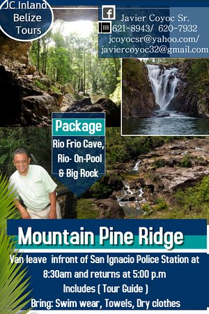 Mountain Pine Ridge Forest Reserve where scenic view of Pine forest,Granite Rocks,Waterfalls,Val