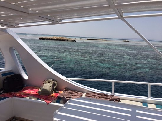 Funny Divers Diving Center: Exploring the reefs at Hurgada Egypt