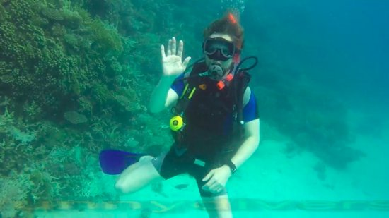 Funny Divers Diving Center: Me submerged
