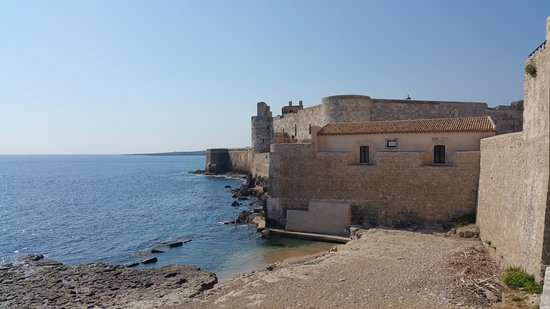 Castello Maniace: ingresso castello