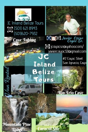 JC Inland Belize Tours (Javier Oscar Coyoc) License Tour Operator with License Tour Guide since