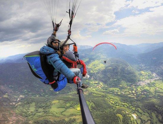 Parapente Volar en Castejon