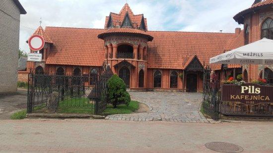 Tukums, Letonia: Kafejnīca Pils
