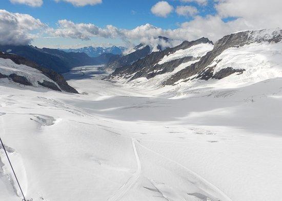 Aletsch Glacier Photo