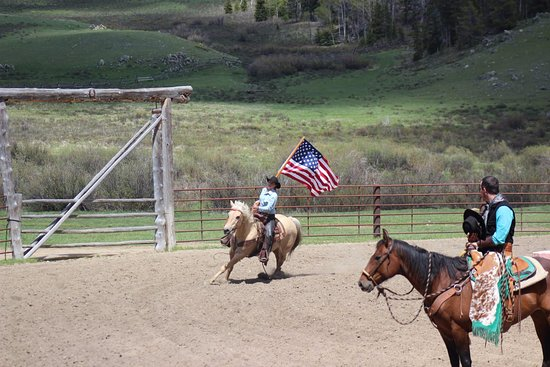 Buffalo, WY: Rodeo Opening Ceremony in Paradise.
