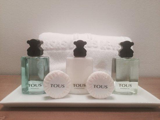Hotel Hospederia De Los Reyes: Detalle Amanities Tous