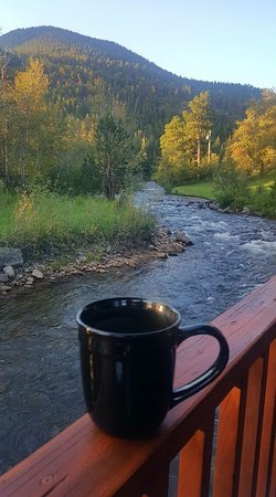 Paradise on the River: Best way to enjoy your morning coffee! :)