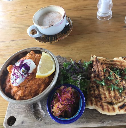 South Petherton, UK: Chickpea Masala