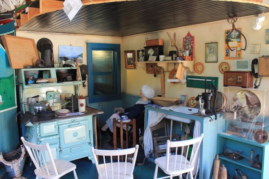 Port Greville, Canada: The kitchen story exhibit