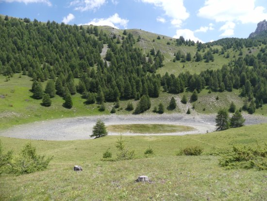 Savines-le-Lac, فرنسا: Le lac