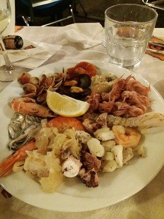 Hostaria Vecia : antipasto di pesce
