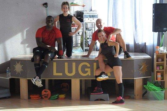 Lugia FitnessClub : l'équipe Lugia