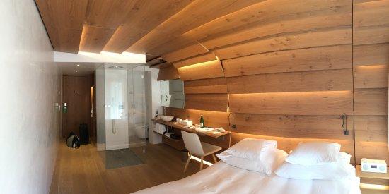 Vals, Switzerland: Kengo-Kuma-Zimmer