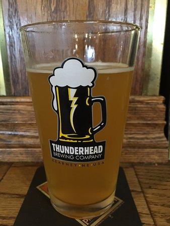 Thunderhead Brewing Company: Prairie Peach Wheat