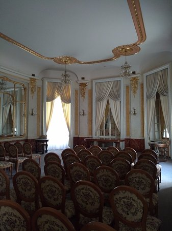 Potoсki Palace: Hudební salonek