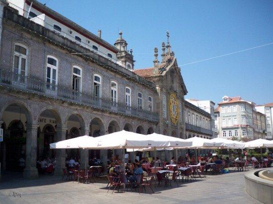 Praca da Republica: Plaza y terraza