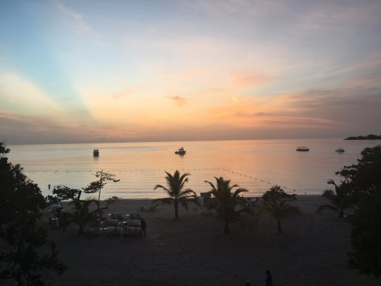 Couples Negril: sunset from 1301